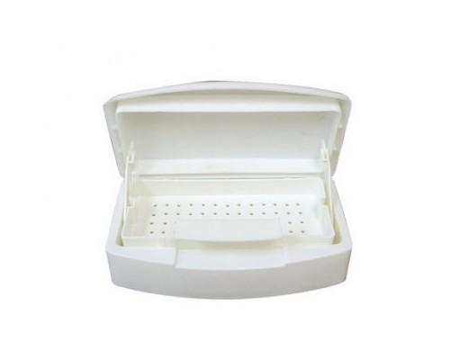 Récipient de stérilisation en plastique avec plateau 8.5'' x 5'' x 2.5''