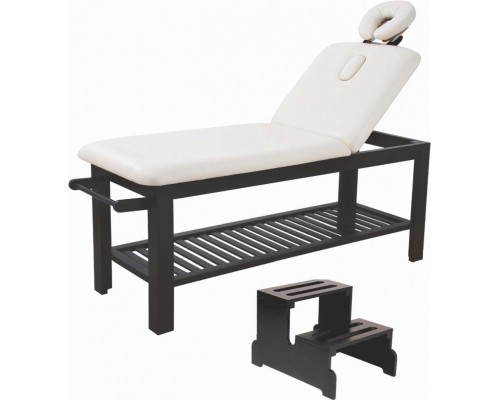 Table de soins et massage 2 sections en bois (to be translated)