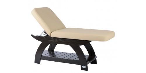 Table de soins et massage Soma Maldive 2 sections ''en bois''