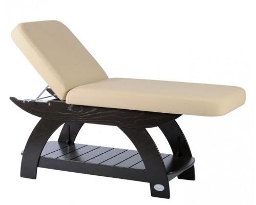 Table de soins et massage Soma Maldive 2 sections ''en bois'' (to be translated)