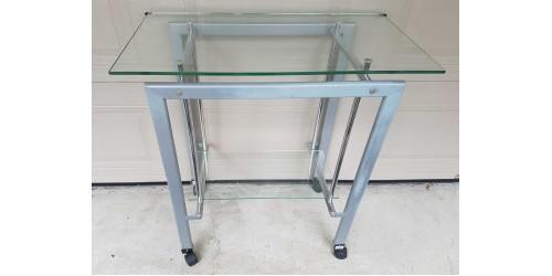Table de service vitrée (Usagée)